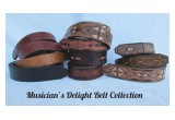 Belts from the Musician's Delight Collection